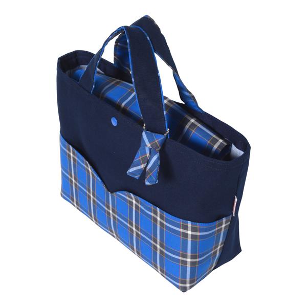 神戸タータン トートバッグ