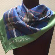シルク捺染プリント スカーフ